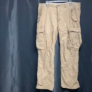 Olive green Polo cargo style pants. Size 38/32